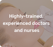 trained and experienced doctors and nurses
